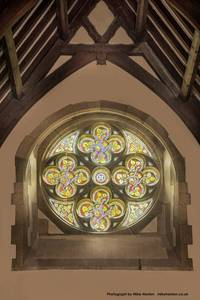 Rose Window 2 St Cyr's by Mike Henton 2015 Small