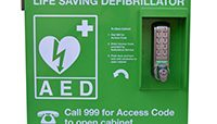 Automated External Defibrillator in Stinchcombe