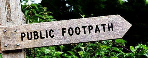 Countdown to Register Footpaths and Bridleways