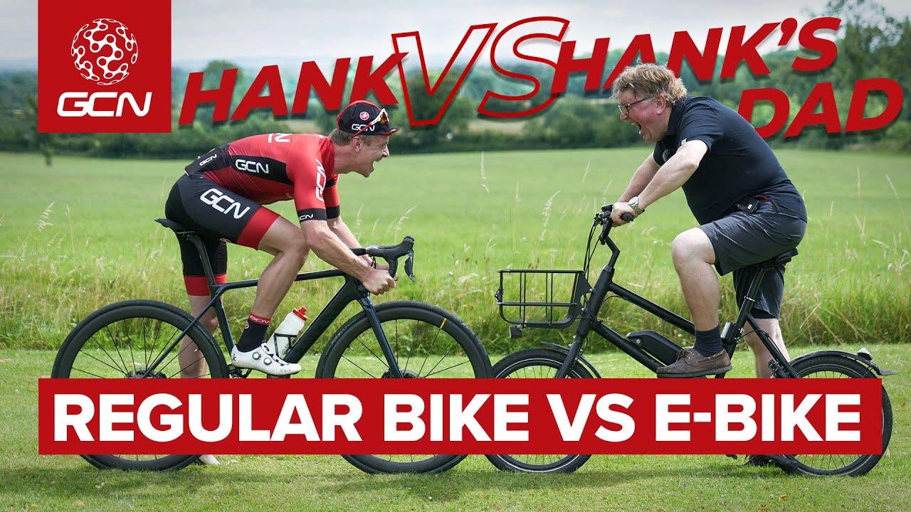 father V son, bike v ebike