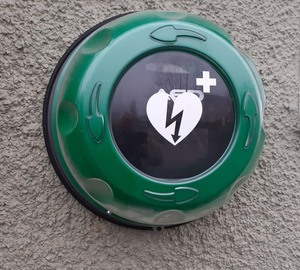 AED at Village Hall